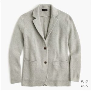 NWT JCrew sweater blazer